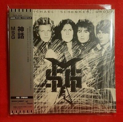 MICHAEL SCHENKER GROUP: MSG_CD in a Mini LP Sleeve_As New_Limited & OOP!!!
