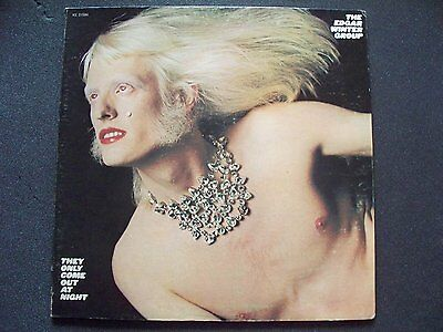 """Edgar Winter They Only Come Out At Night '72 Epic Rock/Hard Rock 12"""" 33RPM LP VG"""