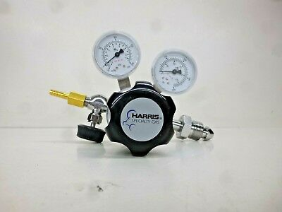 NEW!! HARRIS 401C Series, Specialty Gas Regulator, Single Stage, Laboratory