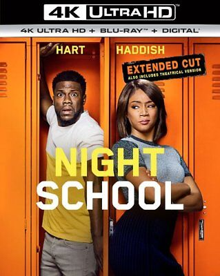 Night School: Extended Cut (4K Ultra HD ONLY w/ Case & Slipcover)