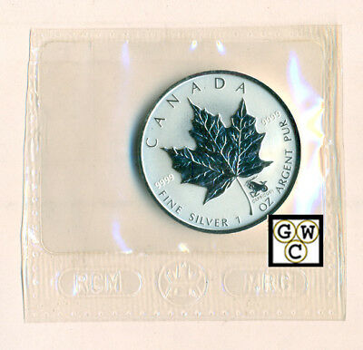 2004 Capricorn  Zodiac Privy Mark Silver Maple Leafs 1oz .9999Fine 5$ Coin(OOAK)