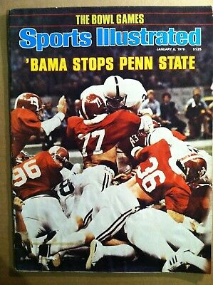 1979 Alabama Crimson Tide National Champs 1-5 - Sports Illustrated Issue