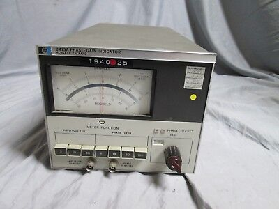 HP 8413A Phase Gain Indicator Electrical Analyzer