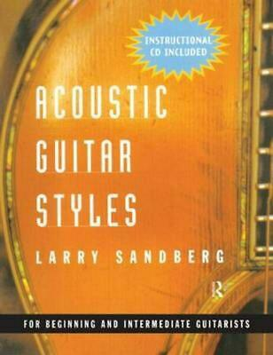Acoustic Guitar Styles [With CD] by Larry Sandberg (English) Paperback Book Free
