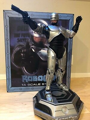 Pop Culture Shock PCS ROBOCOP 1:4 Statue Exclusive