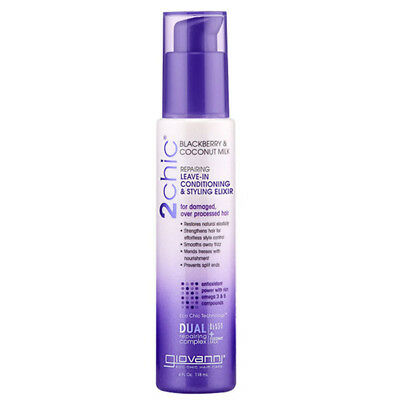 Giovanni Leave-in Conditioning & Styling Elixir - Blackberry & Coconut Milk