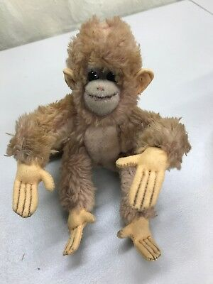 "Steiff Co Vintage 7"" Monkey"