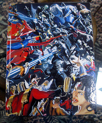 Alex Ross Mythology COFFEE TABLE GRAPHIC ART BOOK Good vs Evil hard cover book
