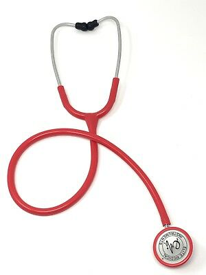 EMI Light Weight Clinical Cardiology Stethoscope - Pink Perfect for Nurses