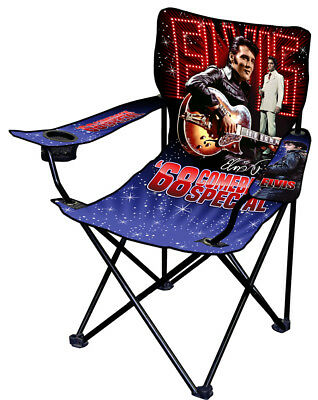 Elvis Presley 68 Comeback Special Limited Edition Camping Chair SALE
