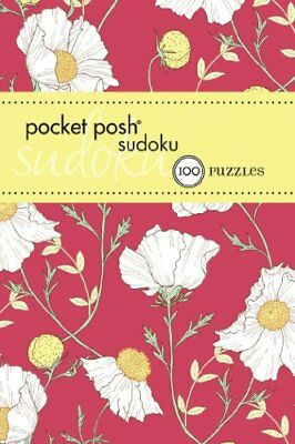 Pocket Posh Sudoku 17: 100 Puzzles by The Puzzle Society Book The Cheap Fast