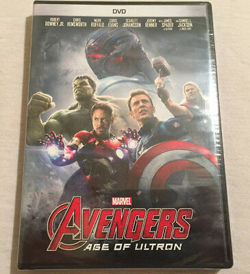 Avengers: Age Of Ultron (DVD 2015) BRAND NEW - FREE SHIPPING!!!