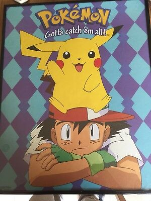 pokemon poster framed