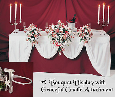 1 GC Bridal Flowers C Wedding Bouquet Holder Display Reception Table Decorations
