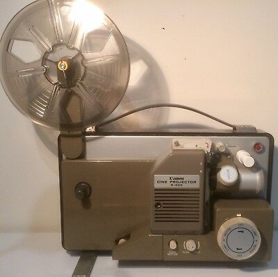 Canon S-400 Dual 8mm Silent Movie Projector