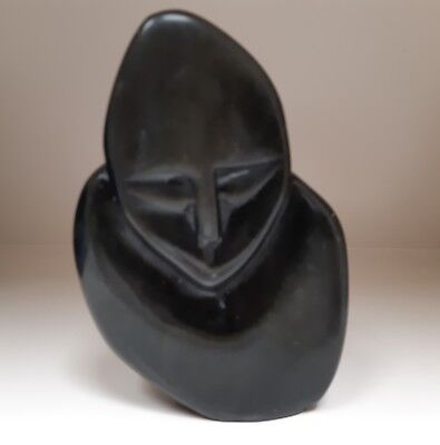 African Abstract Shona Stone paper Weight Statuette