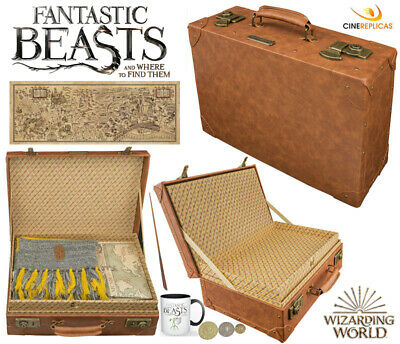 Newt Scamander Suitcase, RARE, Fantastic Beasts Briefcase, Wand, Wizarding World
