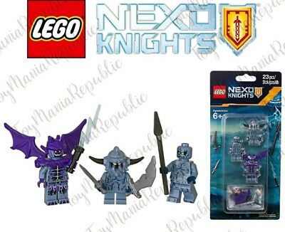 Lego NEXO KNIGHTS - Stone Monsters Accessory Set 3 Minifigures - 853677 - New