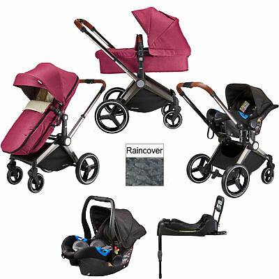 Venice Child Kangeroo Radiant Orchid 3 In 1 Travel System & Accessories