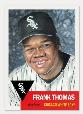 Frank Thomas 2018 Topps Living Set Card #133 Limited Print Run White Sox