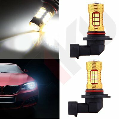 2x 9005 HB3 40W Cree LED SMD 4000LM DRL Daytime Light Xenon White High Power