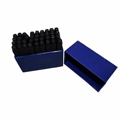 3mm 36pc Letter /& Number Stamp Set Metal Punch Stamps TH273