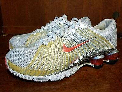 9e349a57ab3 Women NIKE Zoom Shox Experience Multi Color Training Running Shoes Size 7.5