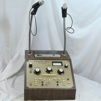 Hearing Test Electone Audiometer Norelco 2500 Cassette Player & Microphone