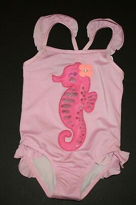 Tulle Ruffle,Seahorse,Sparkly Zebra 12 18 24 2T Mos NWT Girl 1 Piece Swimsuit