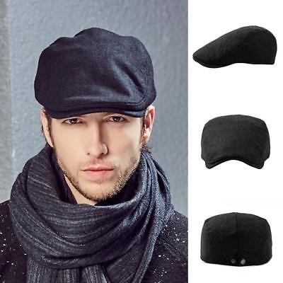 French Style Mens Cap Ivy Hat Golf Driving Flat Cabbie Beret Hat Men Accessories