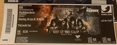 Kiss-Ticket - End Of The Road - World Tour 2019 - Berlin