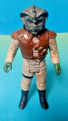 Vintage Kenner Star Wars Figure Klaatu Skiff Guard 1983 Authentic ROTJ Jedi