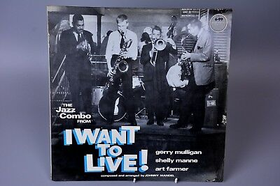 Vinyl Record LP Album: I want to Live! OST - Jazz Gerry Mulligan/Art Farmer....