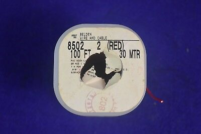 BELDEN 8502 Red  PVC Hook-Up Wire 20AWG