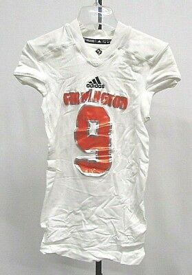 Men's TechFit Adidas Authentic Jersey Farmington #9 M