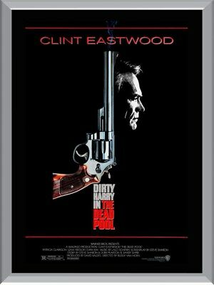 Dirty Harry In The Dead Pool A1 To A4 Size Poster Prints