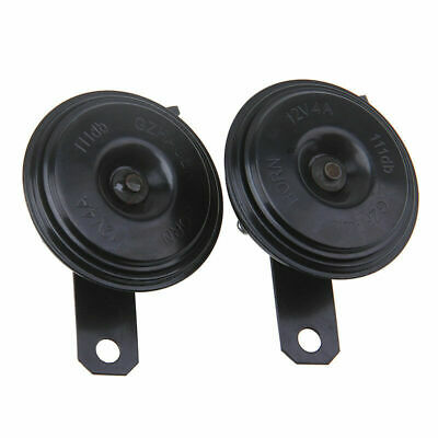 Pair DC 12V Car Electric Horn for Toyota 111dB Loud Strong Tone Speaker