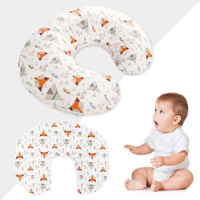 1pc Pillow Cover Soft Cotton Nursing Pillow Cover Slipcover for Baby Shower Gift