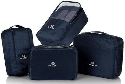 Binlion Packing Cube 4 Piece Set Color Blue