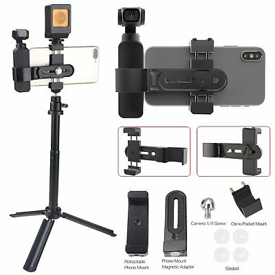 Magnetic Phone Holder Extended Mount Bracket Adapter For DJI Osmo Pocket Camera