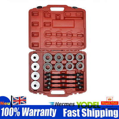 36x Universal Press & Pull Sleeve Kit Remove Install Bush Bearing Garage Tool UK