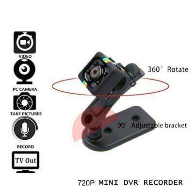 Mini Micro SPY HD Cam Hidden Camera SQ11 Video USB DVR Recording Spy Cam 2019