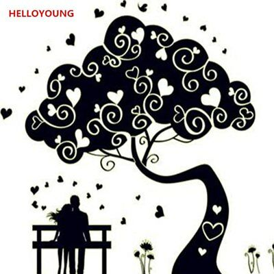 Luminous Abstract Tree Wall Stickers Glow In The Dark Wandtattoos Decor Backdrop