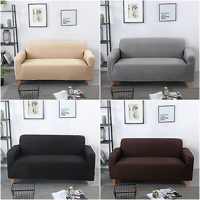 Super Stretch Sofa Slip Covers Couch Cover Lounge Cover Protector 1 2 3 4 Seater