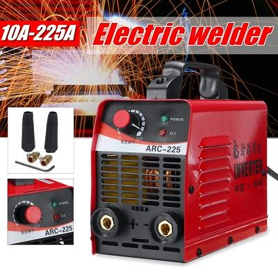 225Amp Welder Inverter ARC Welding Machine DC iGBT Stick Portable LCD Display