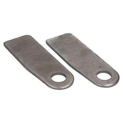 2 x Eye Plate Trailer Truck Tail Board Cropped Steel for Antiluce Drop Catch