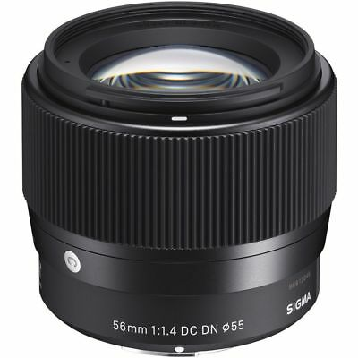 Sigma 56mm f1.4 DC DN Contemporary Lens Micro 4/3 Panasonic Olympus Mount (UK)