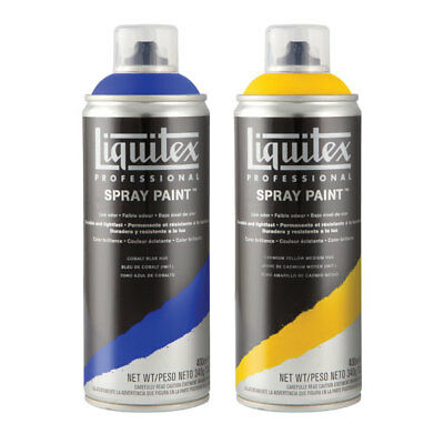 Liquitex Professional Spray Paint Can 400ml - Carbon Black