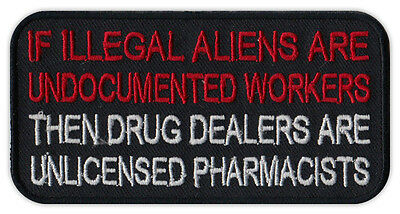 Chaqueta Moto Parche - Illegal Aliens, Drug Dealers Unlicensed Pharmacists