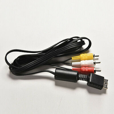 Cool Audio Video Cable Cord For Sony PlayStation 1 2 3 PS1 PS2 PS3 1.7mMAEK
